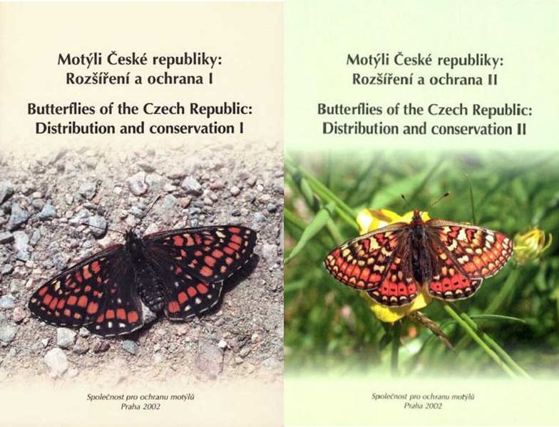 Butterflies of the Czech Republic: Distribution and conservation I/II